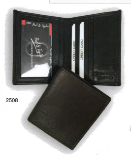 Bi-Fold Small & Slim, ID View, Vert Open