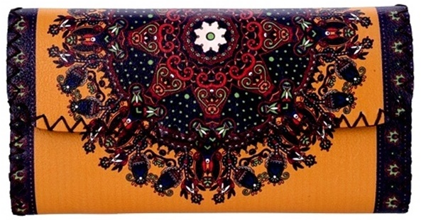 Ethnic Printed Wallet