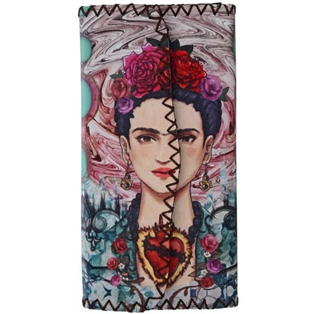 Frida Printed Wallet