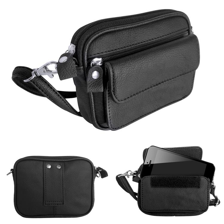 Leather - Compact Utility Bag