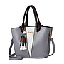 Fashion Shoulder Handbag - Wht Triangle