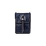 Fashion Leatherette Metal Tassel Crossbody Handbag