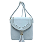 Tassel Zip Envelope Crossbody Bag